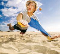 У саратовцев будет площадка для пляжных видов спорта