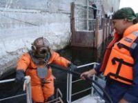 На Саратовской ГЭС укрепляют гидротехнические сооружения