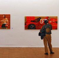 Открытие выставки работ художников Республики Южная Осетия.
