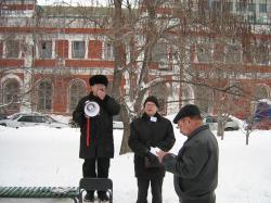На Театральной площади Саратова 27 февраля не нуждающийся в представлениях
