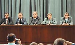 Саратов смотрел ГКЧП по телевизору